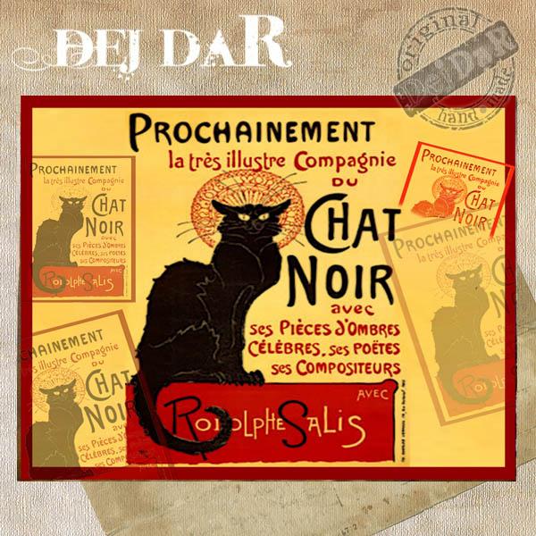 Šperkovnice motiv černá kočka