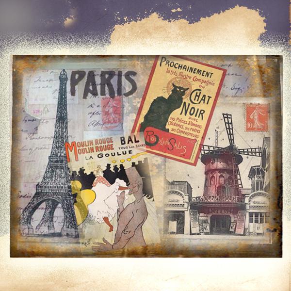 Šperkovnice malá Paříž