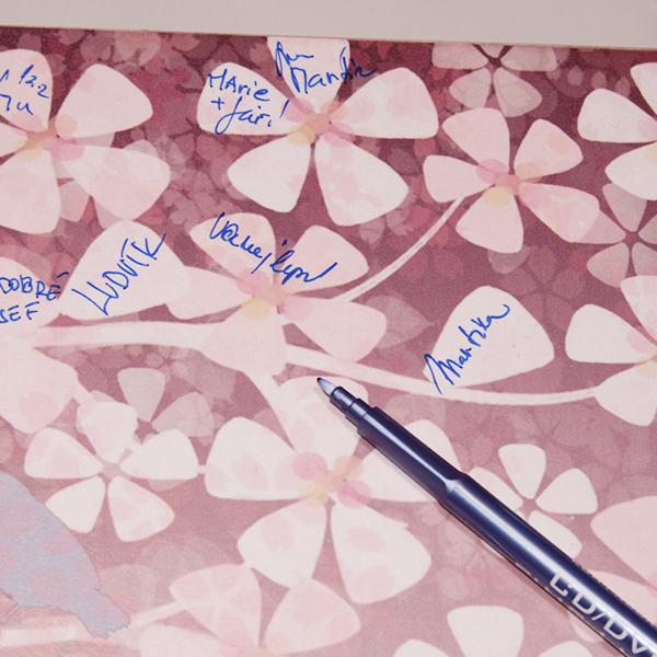 svatební dar, strom přání