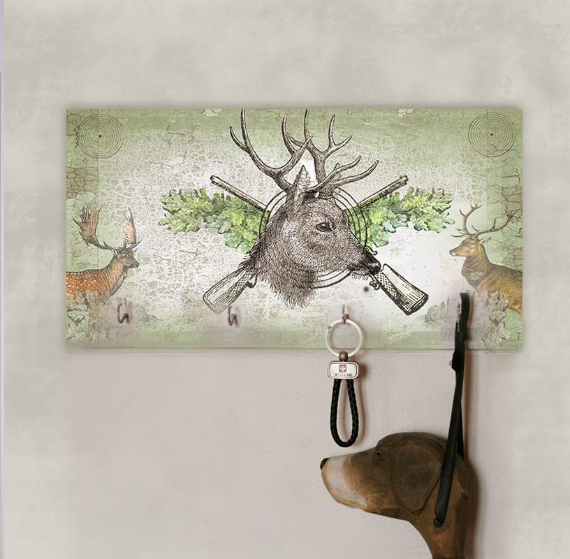 Věšák na zeď, dárek pro myslivce