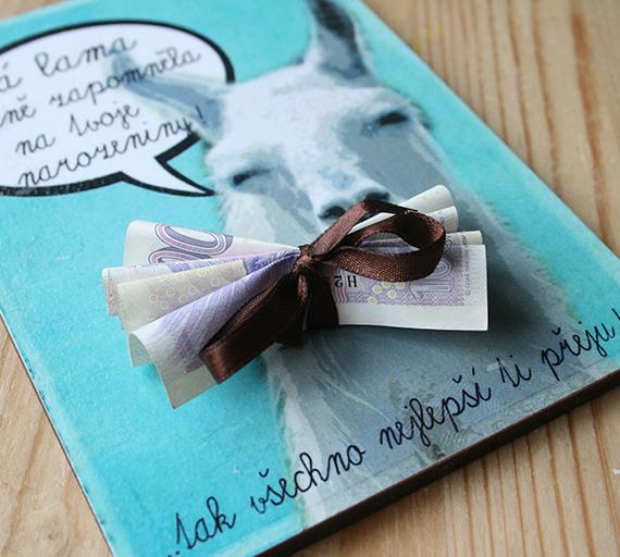 Tip, jak darovat peníze k narozeninám