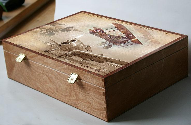 Krabice nejen na fotky, dárek pro muže