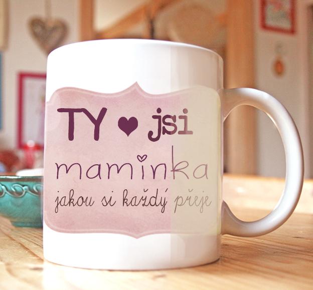 dárek pro maminku, hrníček