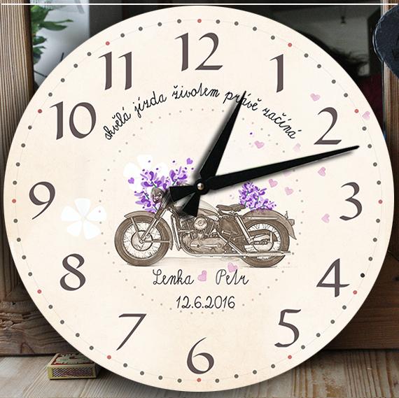 Svatební dárek pro motorkáře