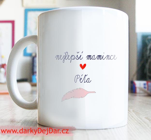 dárek pro maminku, hrníček s citátem