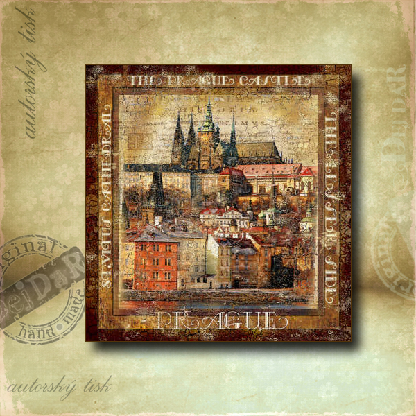 Obrázek čtvercový Praha I.