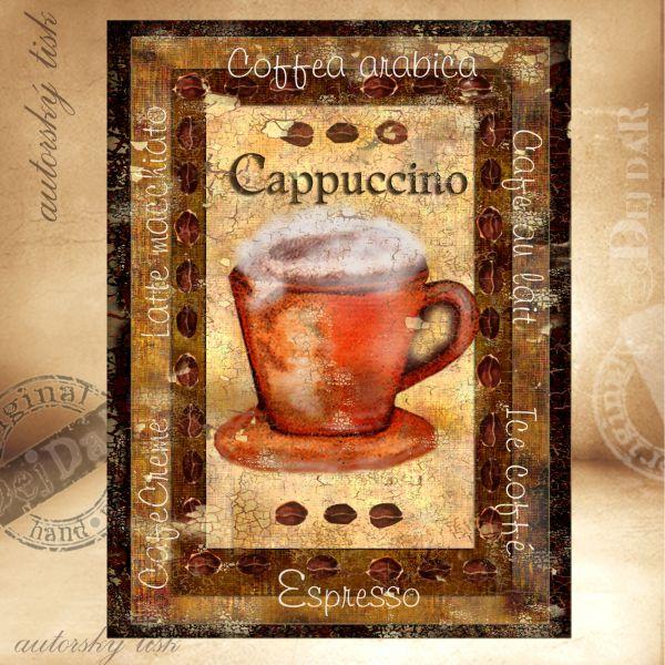 Obrazy káva I.