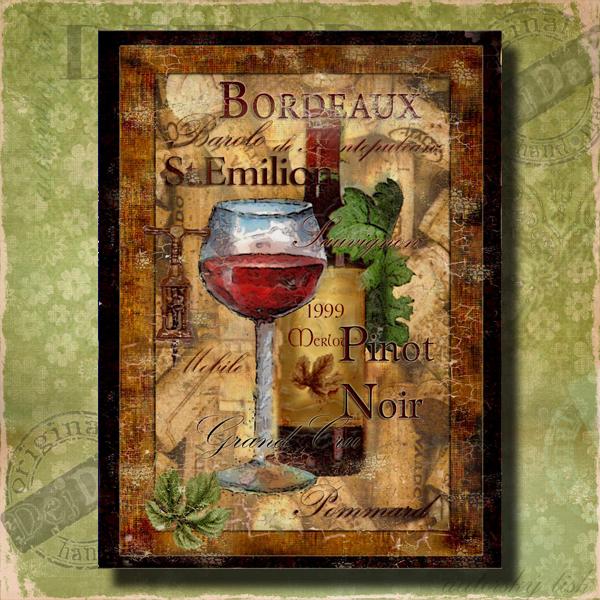Obrazy víno II.