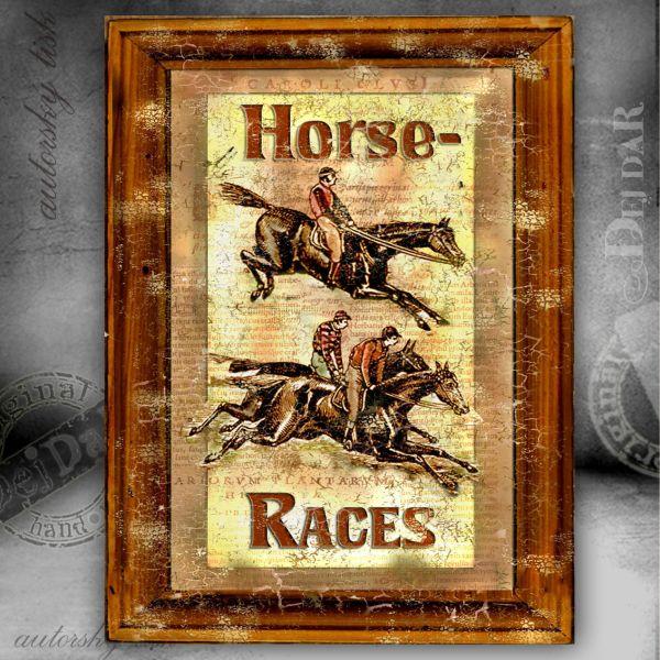 Obrazy koně