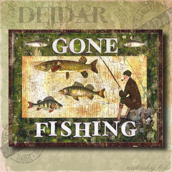Obrazy rybaření II.