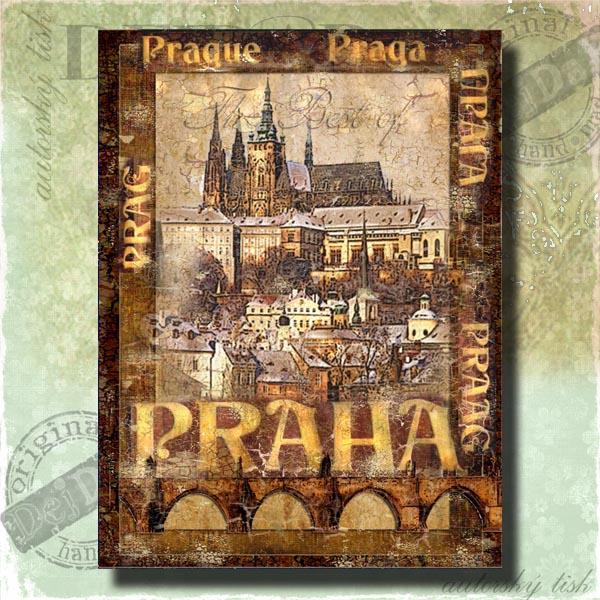 Obrazy Praha X.