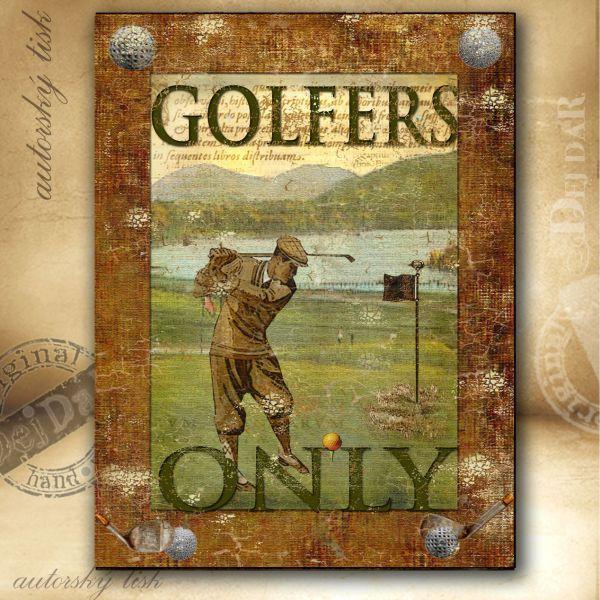 Obrazy golf I.