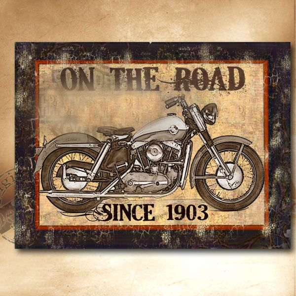 Obrazy motocykl I.