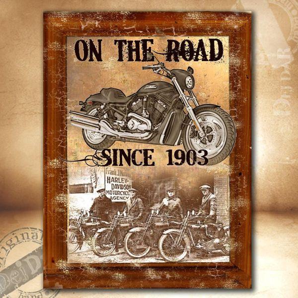 Obrazy motocykl III.