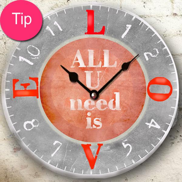 Tip na vánoční dárek - originální hodiny