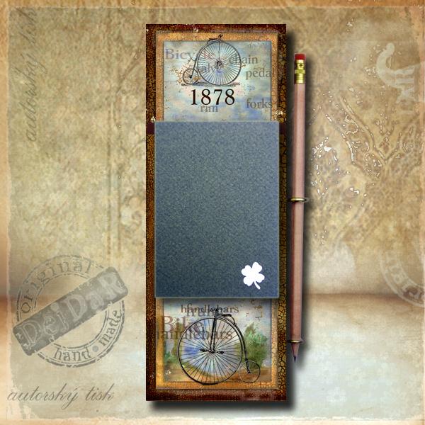 Zápisník dekorace kolo I.