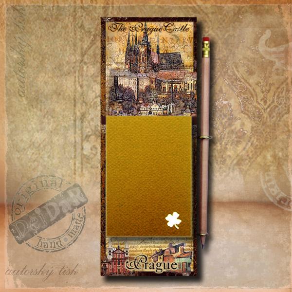 Zápisník dekorace Praha I.