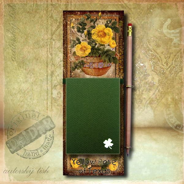 Zápisník dekorace růže II.