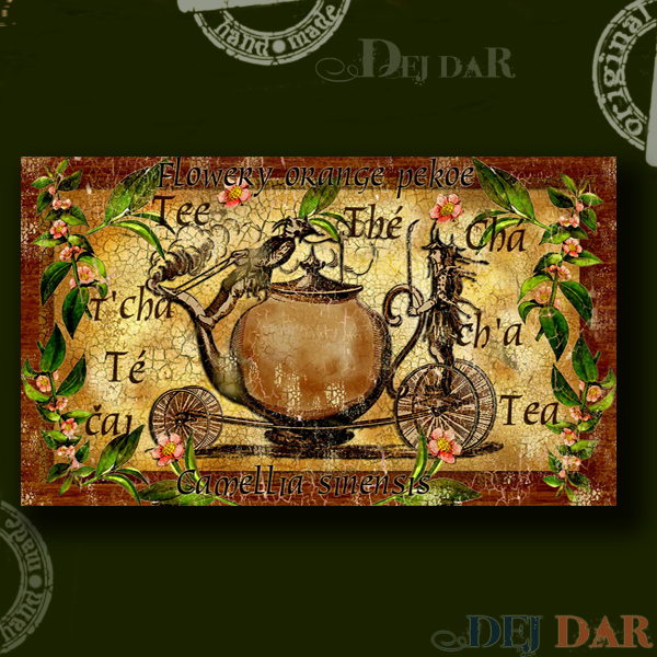 Krabice na čaj konvice