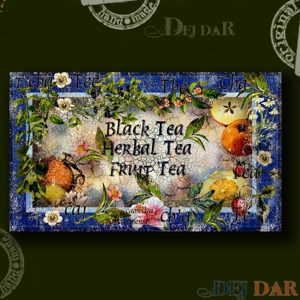 Krabička na čaj II.