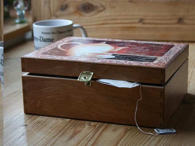 Krabice na čaj IV.