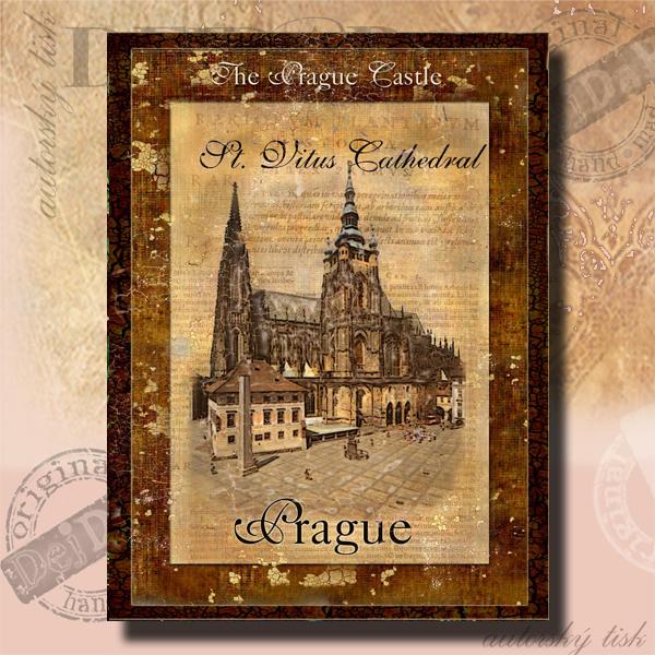 Obrazy Praha XIII.