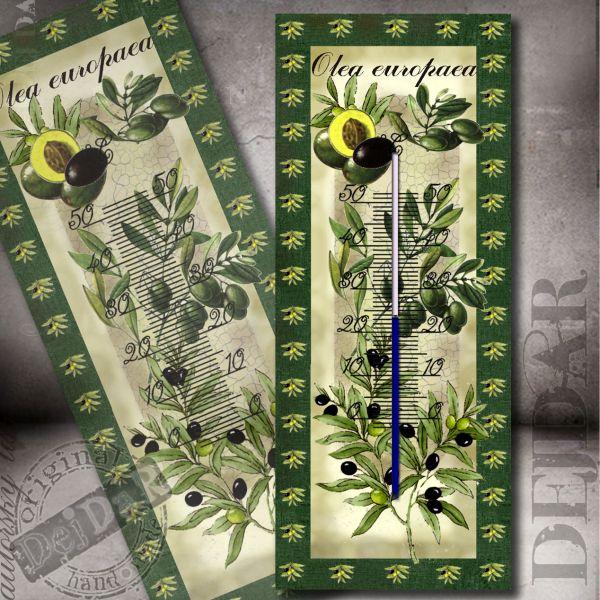 Teploměr olivy I.
