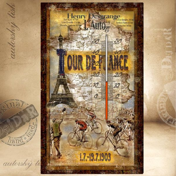 Teploměr pokojový Tour de France