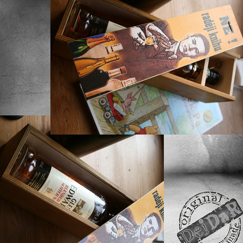Krabice na víno - Tip na dárek
