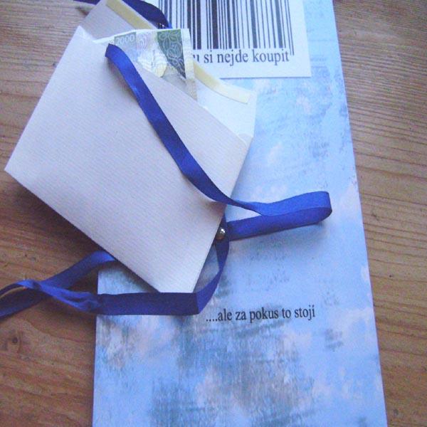 Jak vtipně darovat peníze, tip na vánoční dárek