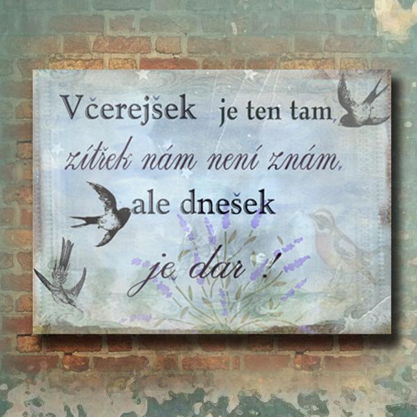 Romatická hláška:) citát, nástěnný obrázek