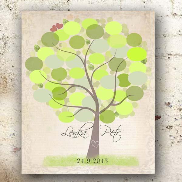 Svatební strom přání