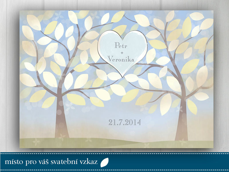Svatební strom, originální svatební dar
