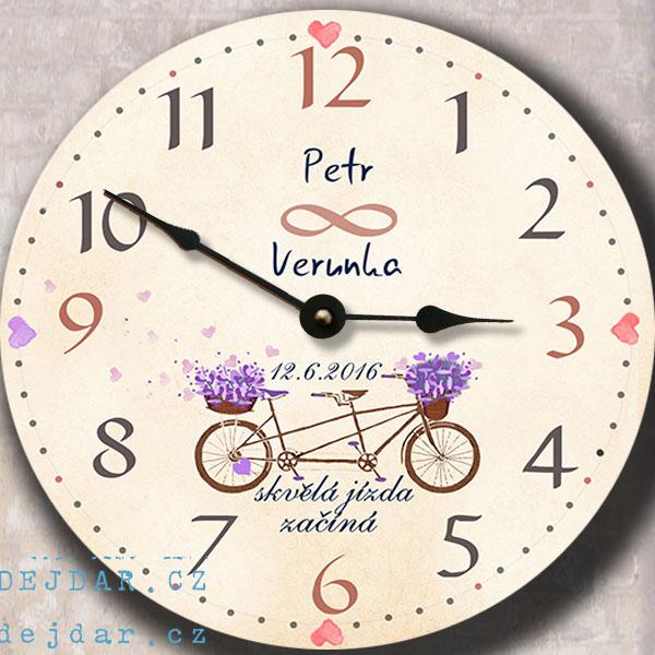 Svatební hodiny - kolo