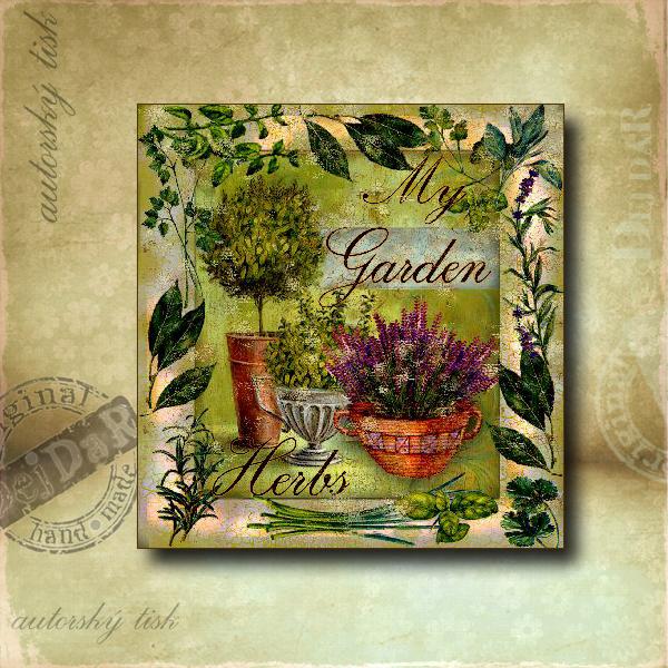 Obrázek čtvercový zahrada
