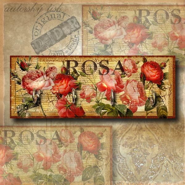 Věšák růže