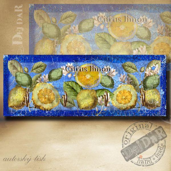 Věšák citrony