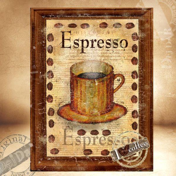 Obrazy káva II.