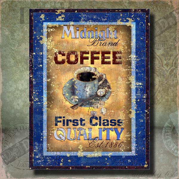 Obrazy káva III.