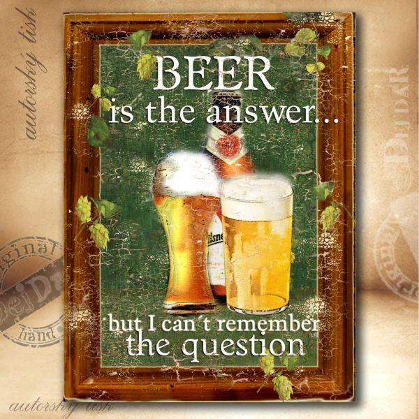 Obrazy pivo II.