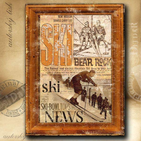 Obrazy lyžování II.