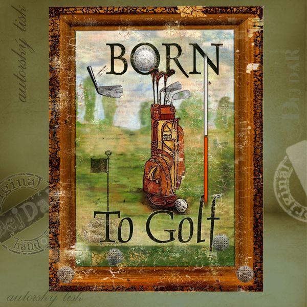 Obrazy golf II.