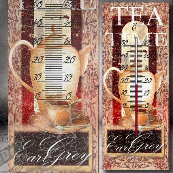Teploměr čaj