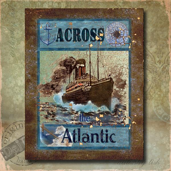 Obraz dekorace Atlantik
