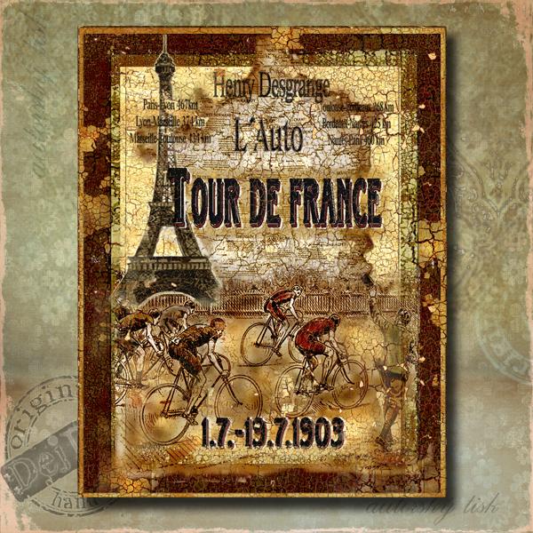 Obraz dekorace Tour de France