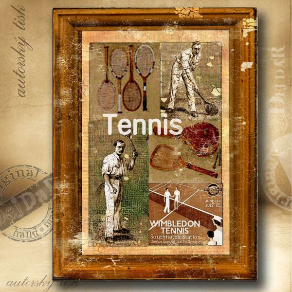 Obrazy tenis II.