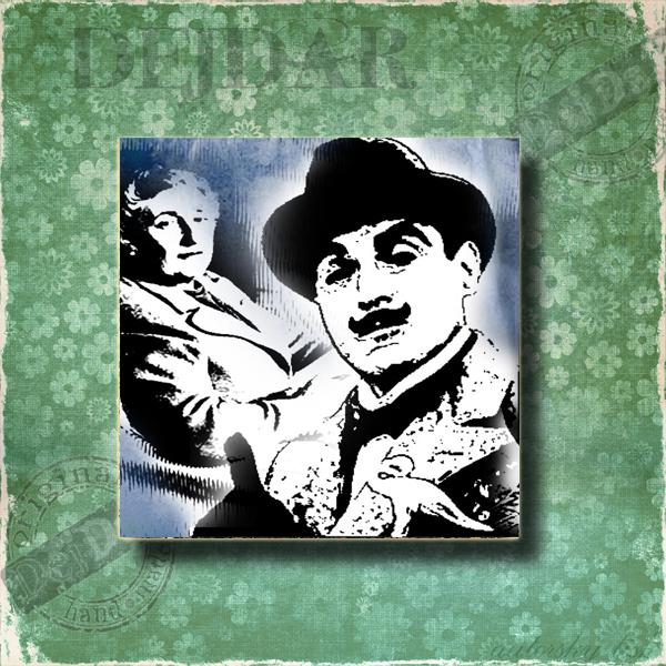 Magnet dekorační Poirot