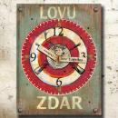 Dárek pro myslivce - originální myslivecké hodiny