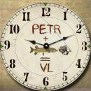 Dárky pro rybáře - nástěnné hodiny