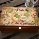 Krabička na čaj - dárek pro babičku